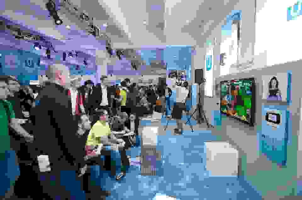Bilder vom heutigen Wii U Event in New York
