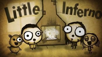 Little Inferno bietet ein niedliche Design und schrille Dialoge
