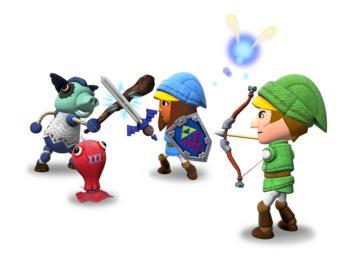 Nintendo Land sollte man mit Freunden spielen