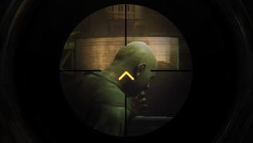 Das Wii U GamePad fungiert auch als Sniper