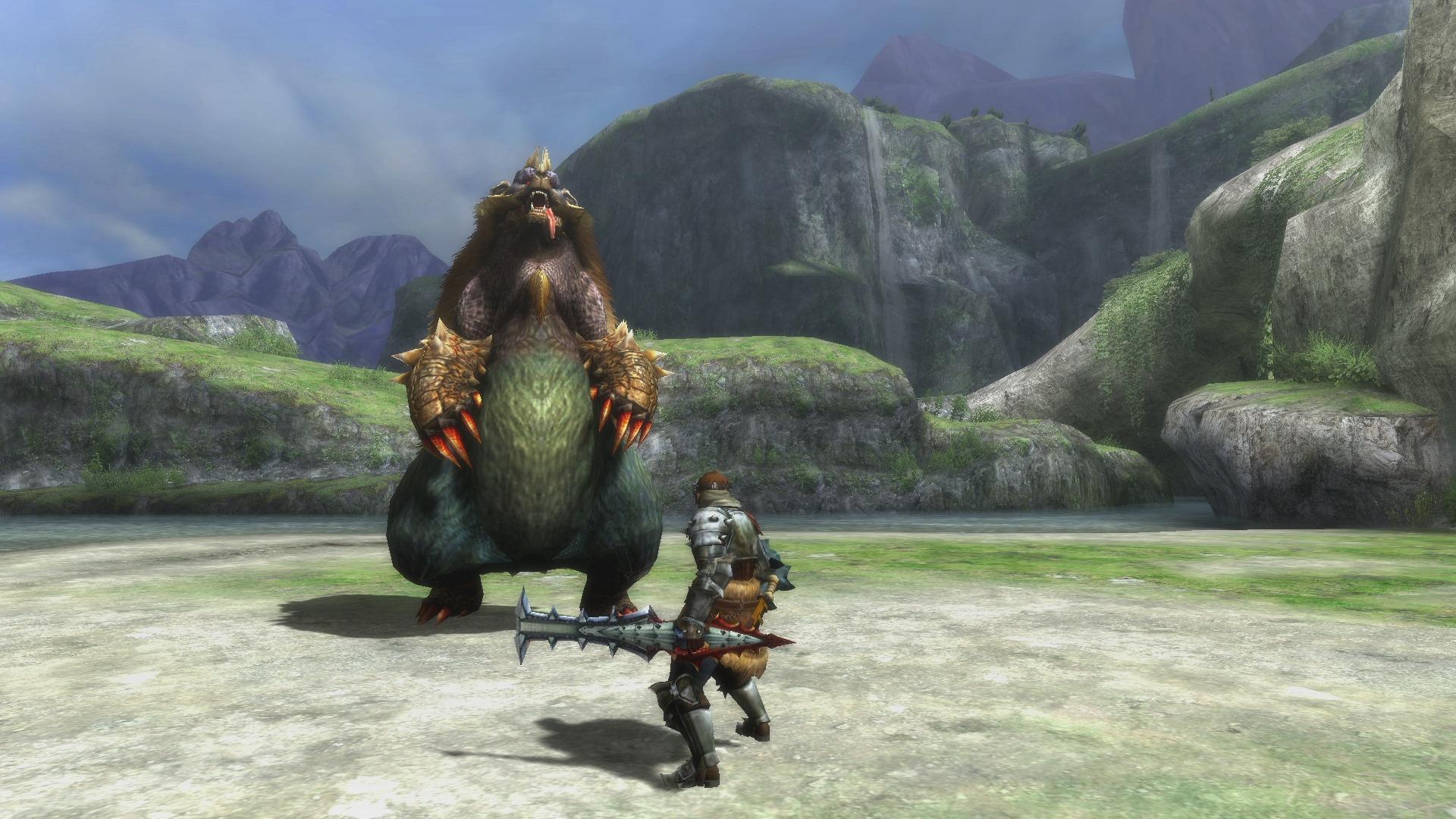 Eines der ersten etwas größeren Monster.