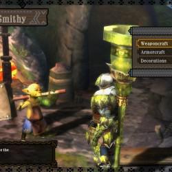 Der Schmied ist einer der wichtigsten NPCs im Spiel.